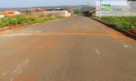 Prefeitura de Papagaios segue com o trabalho de recuperação das vias públicas