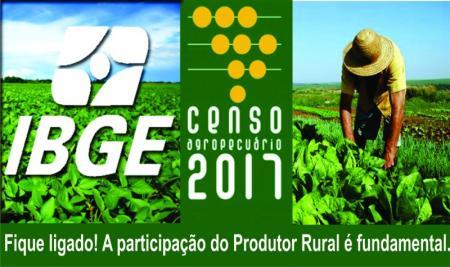 Censo Agropecuário vai visitar 5,3 milhões de propriedades