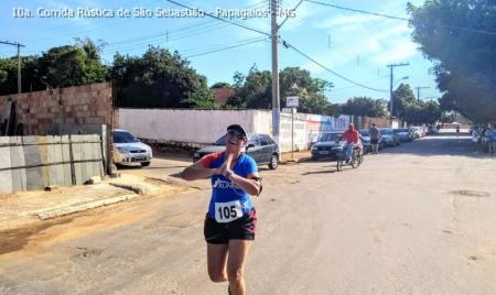 Atletas de várias cidades participaram da 10ª Corrida Rústica de São Sebastião em Papagaios
