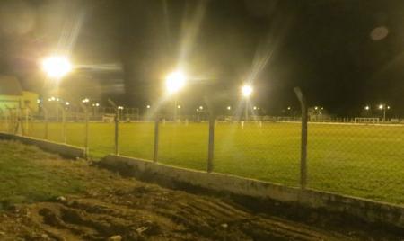 Iluminação do campo de futebol da Lagoa será inaugurada no próximo dia 25 de maio