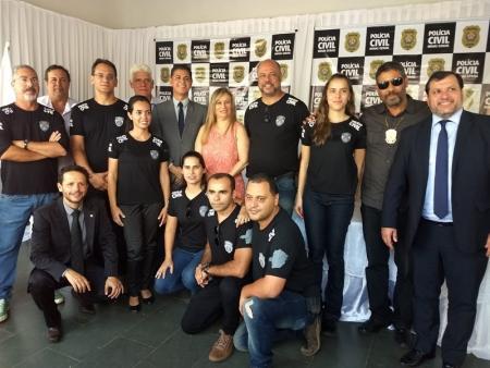 Reinaugurada a Delegacia de Polícia Civil em Papagaios