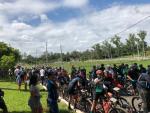 Mais de 180 ciclistas se aventuraram no 2º Passeio Ciclístico MTB de Papagaios