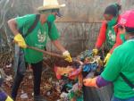 12º Mutirão de Limpeza em Papagaios tem recorde no volume de lixo e entulho recolhidos