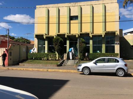 Prefeitura de Papagaios realiza a sanitização de ambientes como mais uma forma de combate ao COVID19