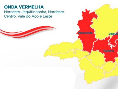 ONDA VERMELHA: Flexibilização das atividades econômicas em Papagaios são objeto do Decreto 1651/2020