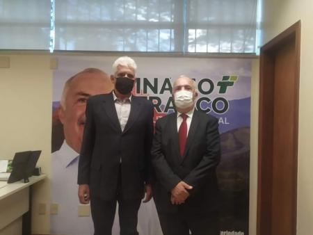 Prefeito de Papagaios participa de reunião na Assembleia Legislativa de MG